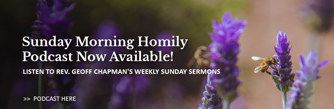 Listen to the Sunday morning homily from St. Matthew