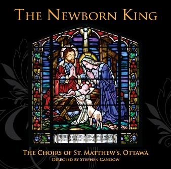 Cover of The Newborn King CD