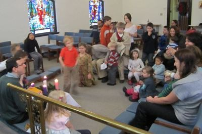 image of Sunday school in Chapel