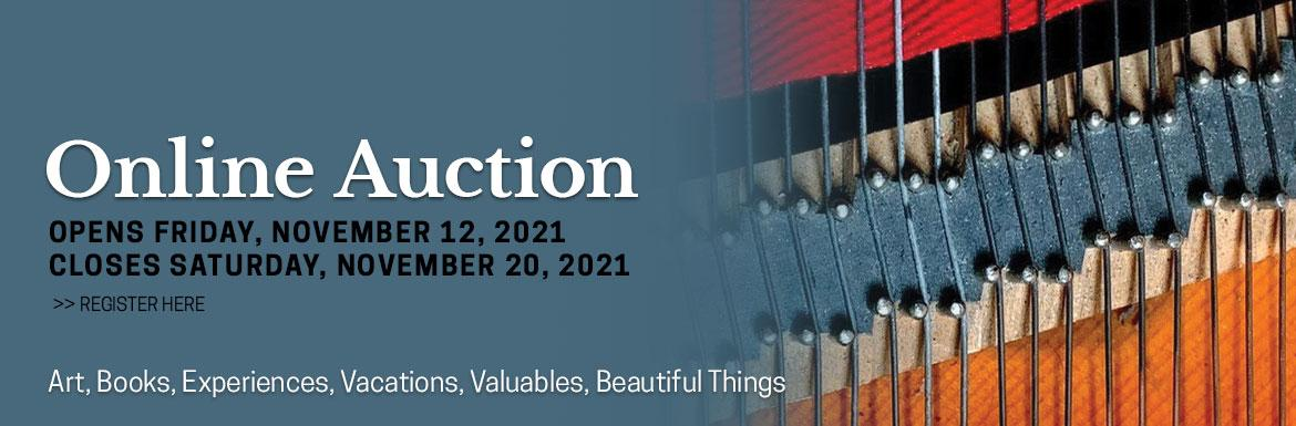 Register and view items in St. Matthew's online auction, running November 12 to November 20, 2021