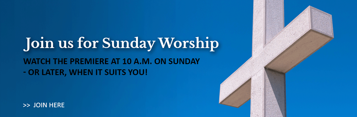 Join us at St. Matthews Anglican Church in Ottawa, Ontario, for church on Sunday morning! Watch the premiere at 10 a.m. or later, when it suits you!  Select this link to be taken to our Youtube Virtual Church playlist.